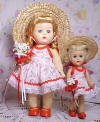 Block Walker and Ginny dressed by guppgirl