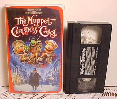 Muppet Christmas Carol Vhs.Collectible Vhs Videos For Sale